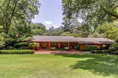 Memphis TN Single Family Home For Sale: $1,200,000