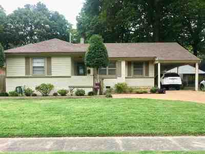Memphis Single Family Home Contingent: 4951 Lynbar