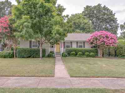 Memphis Single Family Home For Sale: 3824 Mimosa