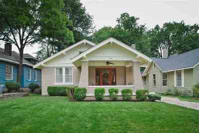 Memphis Single Family Home For Sale: 1900 Court