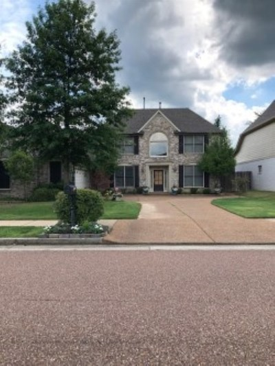 Collierville Rental For Rent: 4899 White Pass