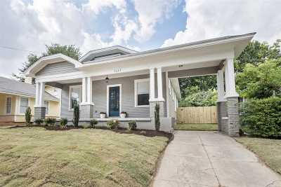 Cooper, Cooper Young Single Family Home For Sale: 2082 Walker