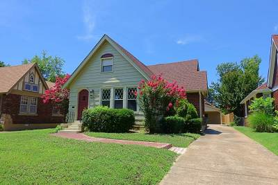 Memphis Single Family Home For Sale: 929 University