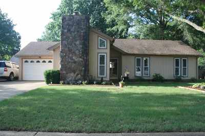 Bartlett Single Family Home Contingent: 7892 Terry Franklin