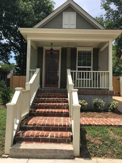 Cooper Young Single Family Home Contingent: 1007 Philadelphia