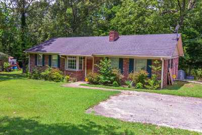 Selmer Single Family Home For Sale: 120 N Oakwood