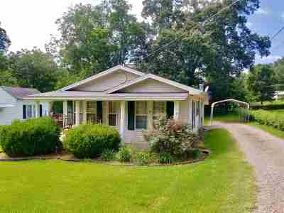 Selmer Single Family Home For Sale: 274 Canal