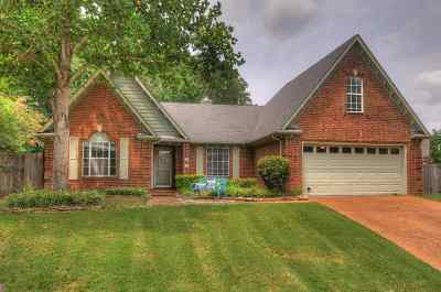 Collierville Single Family Home For Sale: 1460 Milestone