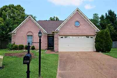 Memphis TN Single Family Home Contingent: $129,900
