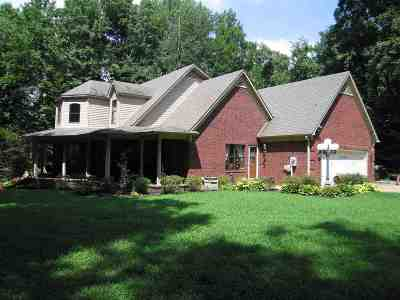 Tipton County Single Family Home For Sale: 2522 Dunlap Orphanage