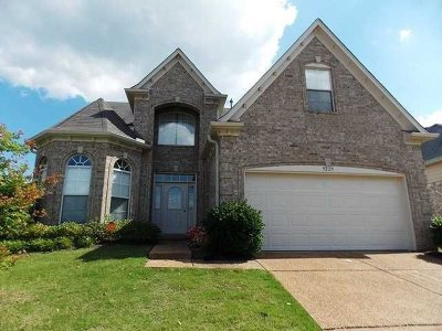 Cordova Single Family Home For Sale: 9229 Chastain