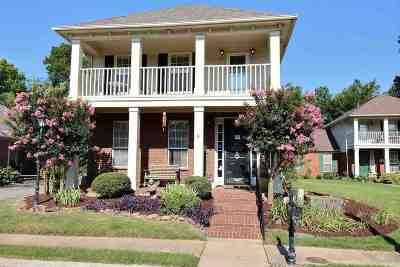 Collierville Single Family Home Contingent: 4549 Park Ridge