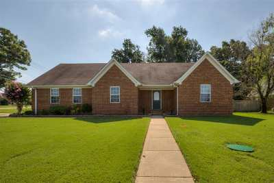 Atoka Single Family Home For Sale: 156 Farmer