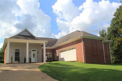 Holly Springs MS Single Family Home For Sale: $162,500