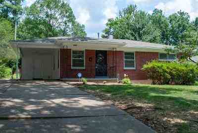 Memphis Single Family Home For Sale: 1390 Whitewater
