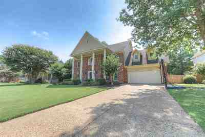Collierville Single Family Home Contingent: 1296 Creek Valley