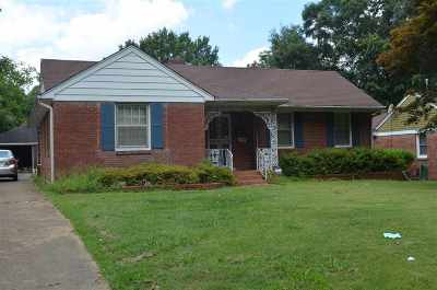 Memphis Single Family Home For Sale: 1049 Wingfield
