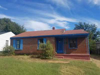 Memphis Single Family Home For Sale: 3528 Brantley