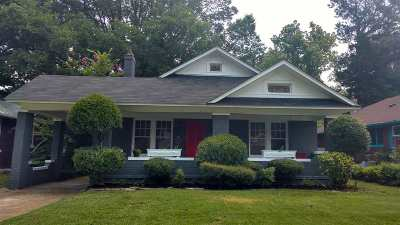 Memphis Single Family Home For Sale: 706 N Belvedere