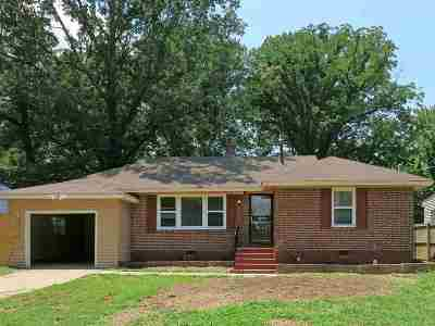 Memphis Single Family Home For Sale: 3541 Hallbrook