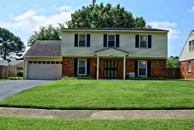 Memphis TN Single Family Home Contingent: $224,000