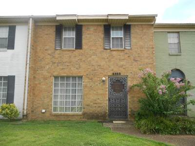 Memphis TN Condo/Townhouse For Sale: $39,900