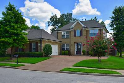 Collierville Single Family Home For Sale: 1509 Loughridge