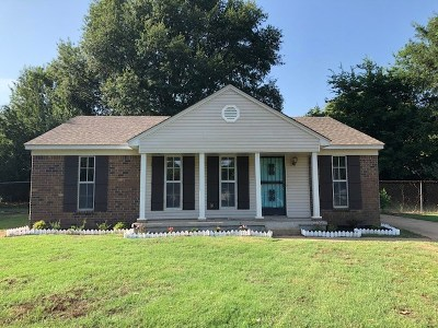 Memphis TN Single Family Home For Sale: $107,900
