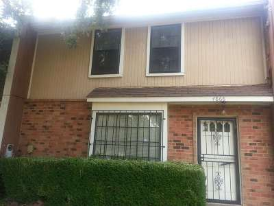 Memphis TN Condo/Townhouse For Sale: $25,000