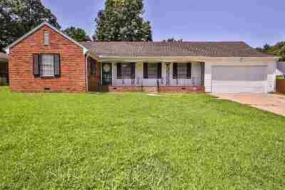 Memphis TN Single Family Home For Sale: $112,000