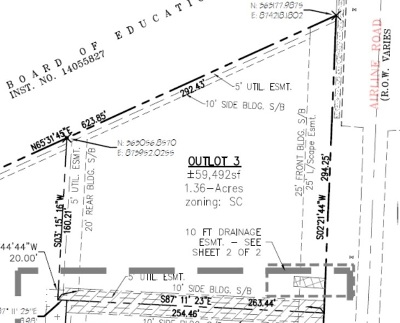 Residential Lots & Land For Sale: 1.36 Airline