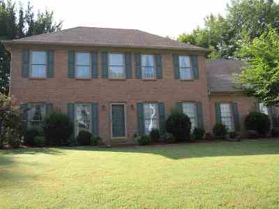 Collierville Single Family Home Contingent: 207 Valleyview