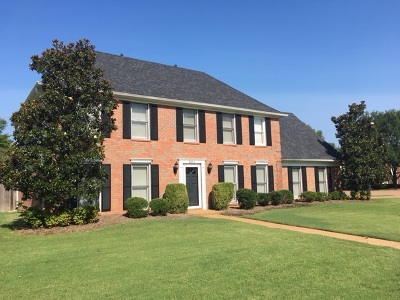 Collierville Single Family Home For Sale: 2851 Fairway Glen