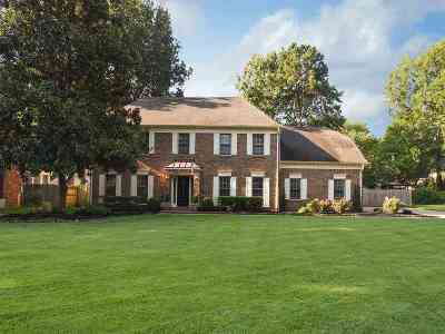 Germantown Single Family Home Contingent: 8733 Dumfries