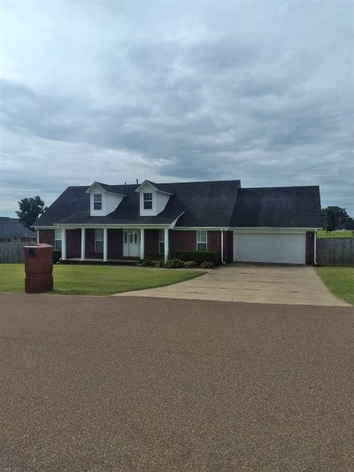 Atoka Single Family Home For Sale: 25 Wheatrum