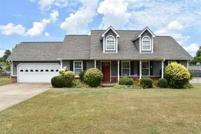 Atoka Single Family Home For Sale: 314 Fulcher