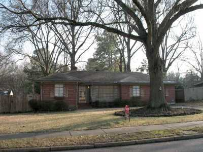 Memphis Single Family Home For Sale: 4017 Hilldale