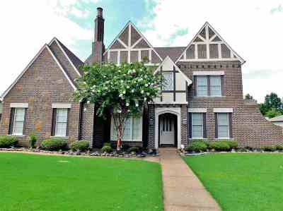 Collierville Single Family Home For Sale: 10582 Harvest Oaks