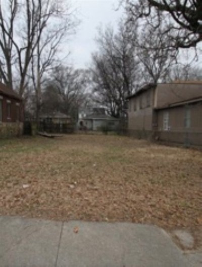 Memphis Residential Lots & Land For Sale: 927 E Parkway