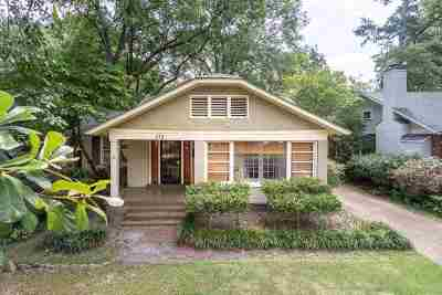 Memphis Single Family Home For Sale: 252 S Holmes