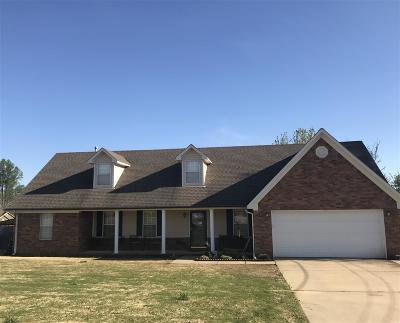 Atoka Single Family Home For Sale: 51 Doe