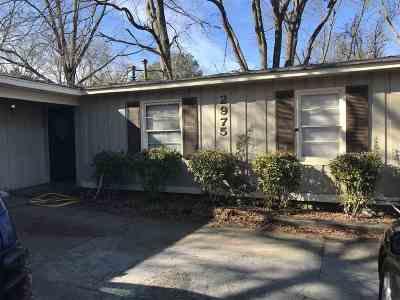 Memphis TN Single Family Home For Sale: $82,500
