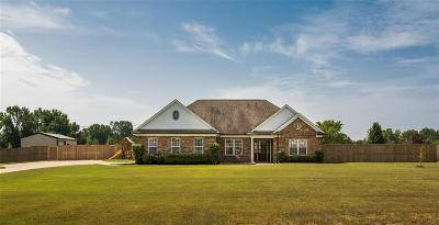 Holly Springs Single Family Home Contingent: 60 Palomino