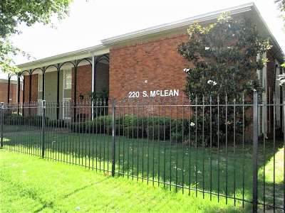Memphis Multi Family Home For Sale: 220 S McLean #(14 tota