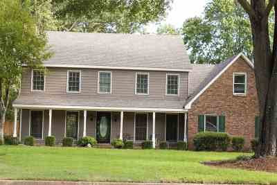 Collierville Single Family Home For Sale: 104 E Valleywood