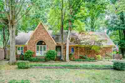 Memphis Single Family Home For Sale: 7307 Abercrombie