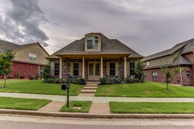Collierville Single Family Home For Sale: 1705 Jennings Mill