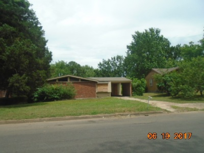 Memphis TN Single Family Home For Sale: $55,000