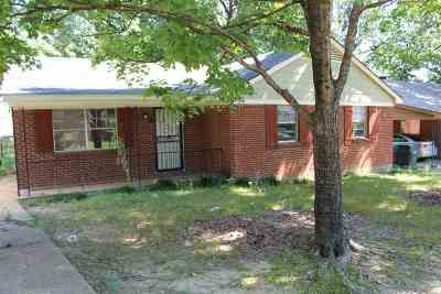 Memphis TN Single Family Home For Sale: $78,000