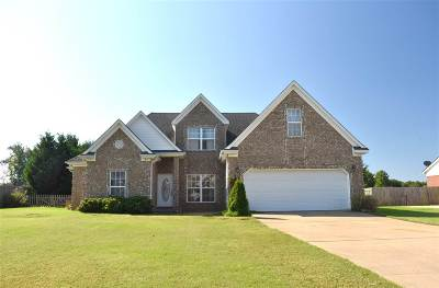 Atoka Single Family Home For Sale: 288 Hummingbird
